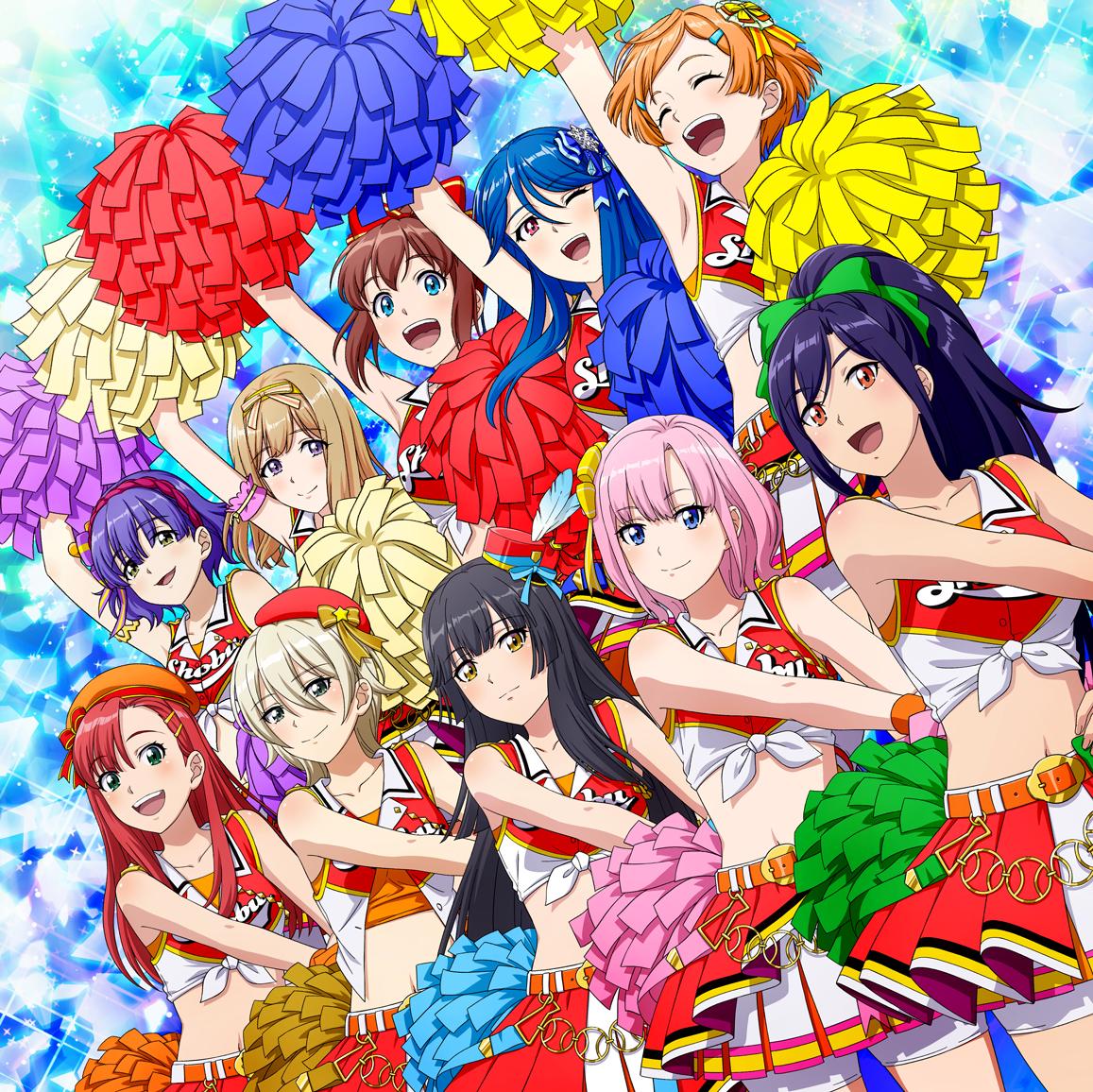 2nd応援歌「ダイヤみたいなGLORY DAYS」発売中! CDには、初回生産分限定でキャラクターカードがランダム封入!